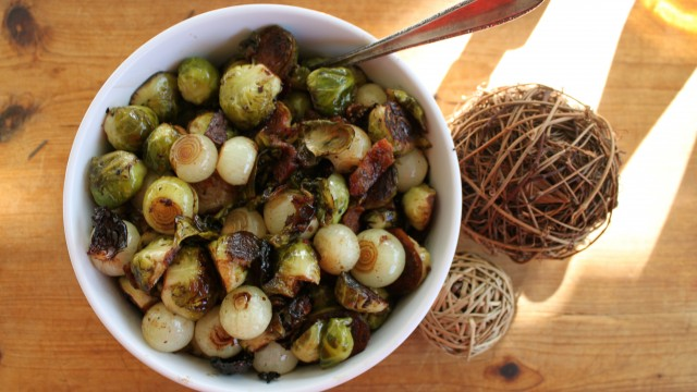Cecelia Thompson's Brussels sprouts