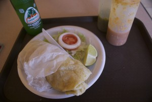 It may not be very photogenic, but this burrito is the real thing.