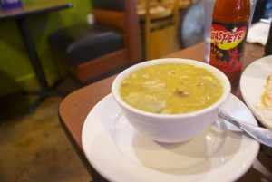 Try the sancocho, a soup that is a Dominican staple.