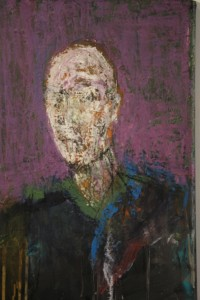 """""""George"""" is painted from the memory of a photograph."""