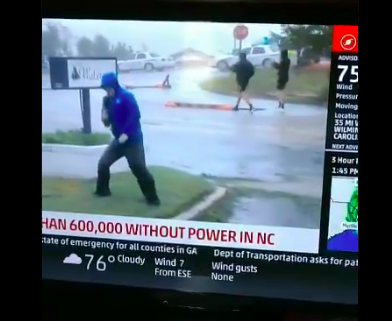PLTS: That ridiculous Weather Channel reporter | The NC Triad's